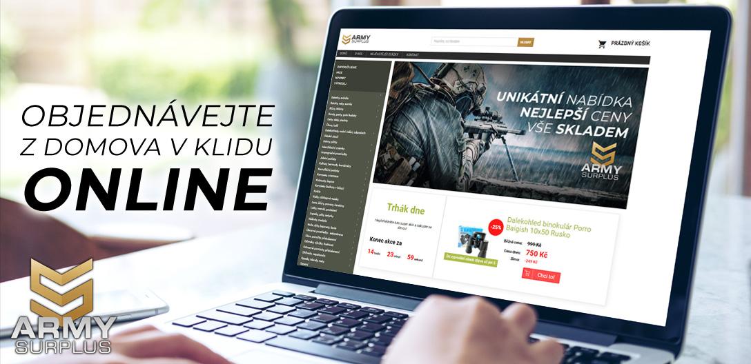 Nákup online v z domova